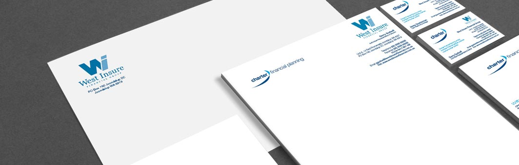 Office stationery printing & design. Customised stationery Perth ...