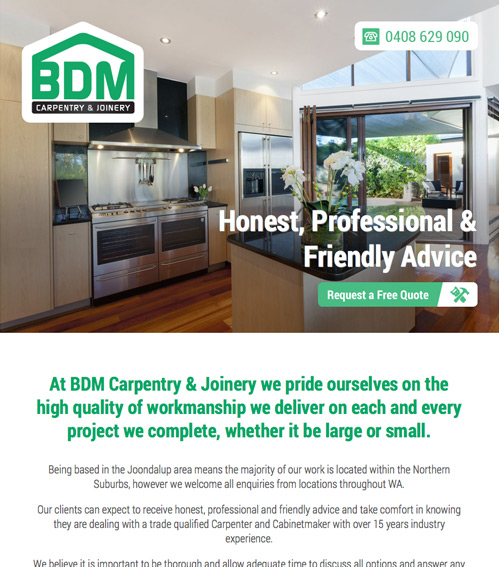 BDM Carpentry